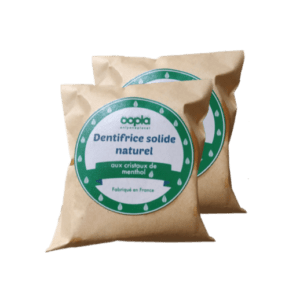 dentifrice solide naturel zero dechet recharge