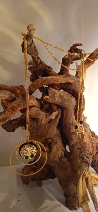 collier long « arbre de vie »